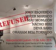 """Exposición """"Les refusés de Kessler-Battaglia"""" en Galería Mr. Pink"""