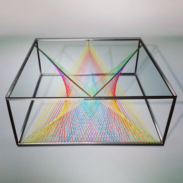 Prism Coffee Table By Maurie Novak #escultura #sculpture #arte #art #artecontemporaneo #contemporaryart #exposición #exhibition #museo #museum #Prism #MaurieNovak