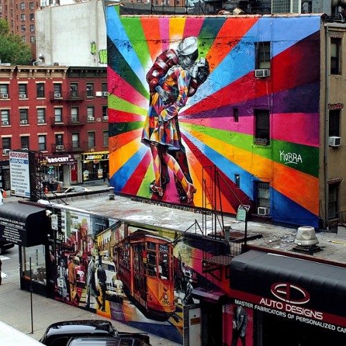 Kobra_street art in Chelsea NYC