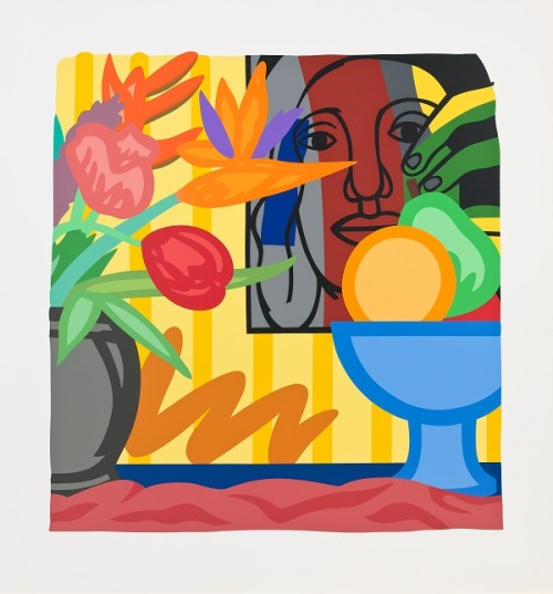 Tom Wesselmann_Mixed bouquet with Leger