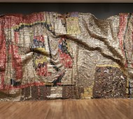 GRAVITY & GRACE Monumental works by El Anatsui.