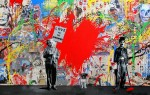 "Mr. Brainwash ""Juxtapose"""