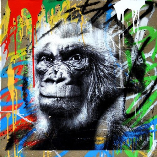 "Mr. Brainwash ""Floquet de Neu 9"""