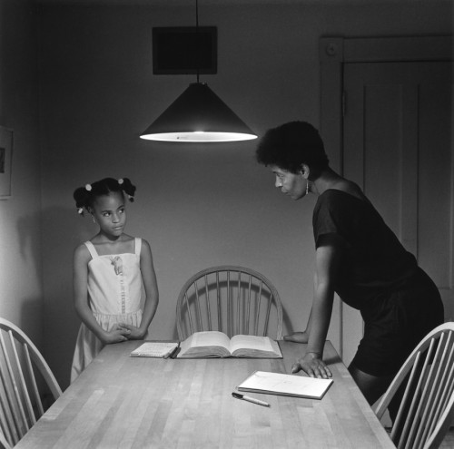 CARRIE MAE WEEMS. Triptych with Daughter