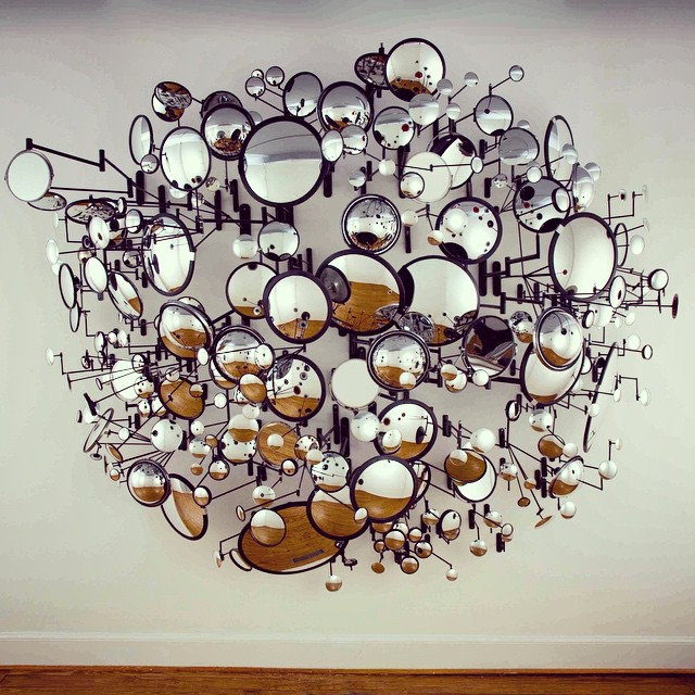 Graham Caldwell 'Compound Eye' #escultura #sculpture #installation #imstalación #arte #art #artecontemporáneo #contemporaryart #artist #artista #exposición #exhibition #galeriadearte #artgallery #museo #museum #GrahamCaldwell