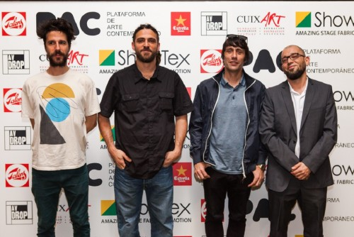 """Premio """"Pinzell cuixart"""" JLoca, Fasim, Zosen Bandido y Kram"""