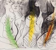 Picasso_PLUSIEURS FEMMES NUES_1969