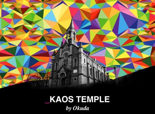 Kaos Temple by Okuda