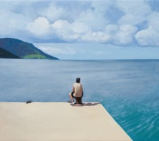 CHARRIS Aviador, 2015. Oleo sobre lienzo. 50 x 61 cm.
