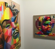 "Okuda ""iam Gallery x Up&Coming Gallery"" en Galería Kreisler"
