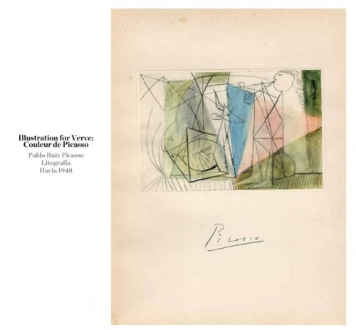 Illustration for Verve- Couleur de Picasso