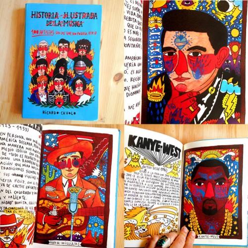 Ricardo Cavolo - 100 artistas sin los que no podría vivir (book)