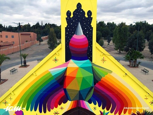 """Okuda San Miguel """"11 Mirages to the Freedom"""""""