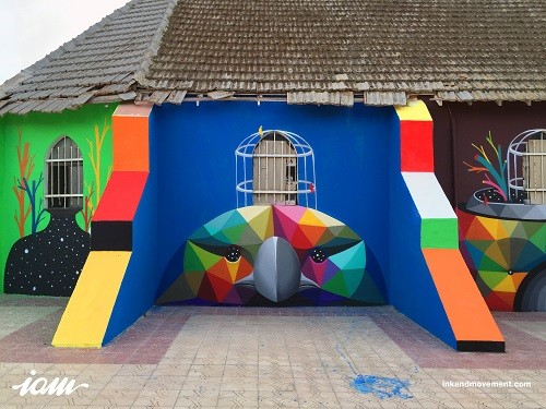 "Okuda San Miguel ""11 Mirages to the Freedom"""