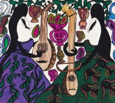 The Two Musicians Baya Mahieddine