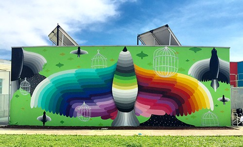 Okuda - Flying Cages