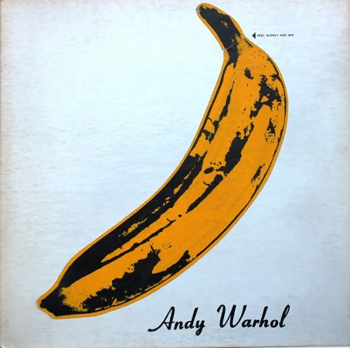 Andy Warhol_Portada del disco The Velvet Underground & Nico de The Velvet Underground_Verve Records, 1967