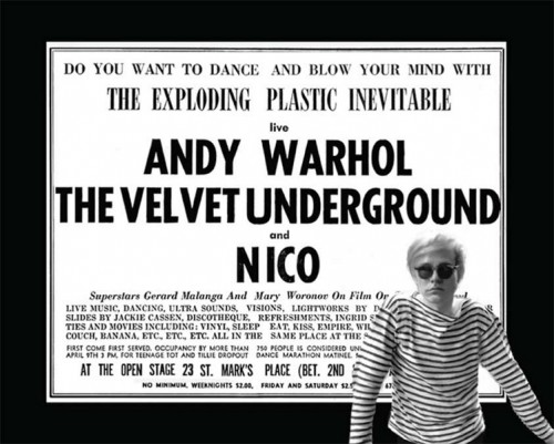 Ronald Nameth_Andy Warhol's Exploding Plastic Inevitable with The Velvet Underground & Nico_1967-2016. Ronald Nameth. Todos los derechos reservad