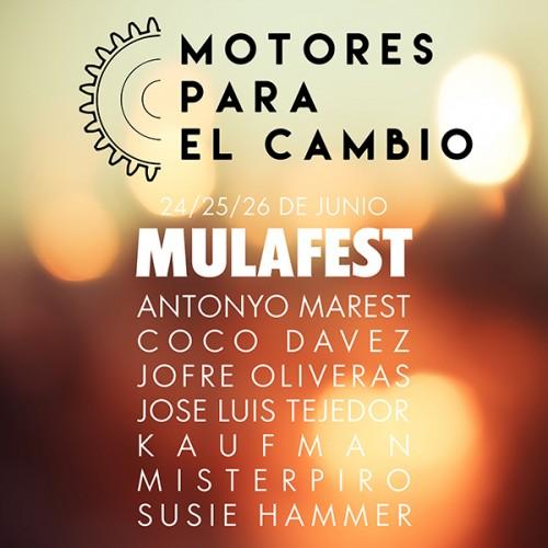 MOTORES PARA EL CAMBIO MULAFEST 2016