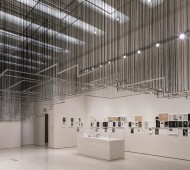 Installation View: But a Storm Is Blowing from Paradise: Contemporary Art of the Middle East and North