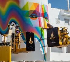 Wall Burners Ibiza por Burn - Felipe Pantone & Okuda San Miguel