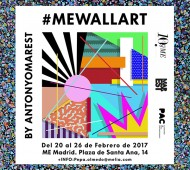 MEWALLART by Antonyo Marest - ME Madrid