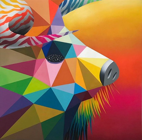 Okuda San Miguel - Theriomorphism IV