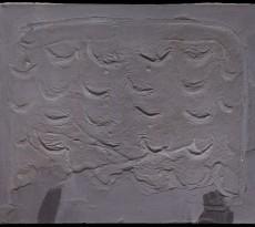 Relieve gris con arcos, 1959, Antoni Tapies