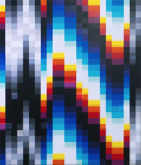 La obra de Felipe Pantone nos habla en Underdogs Gallery