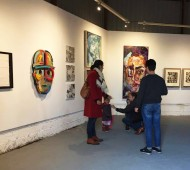 Exposición colectiva residentes Art House Holland 2017