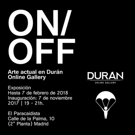 ON/OFF. El arte actual en Durán Online Gallery