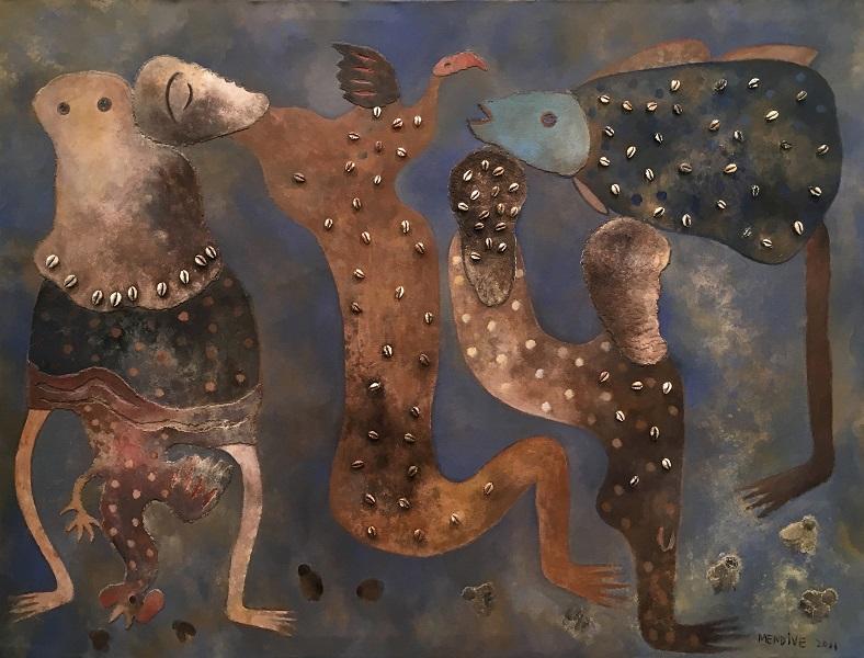"""Mendive"", retrospectiva del artista cubano en Artizar"