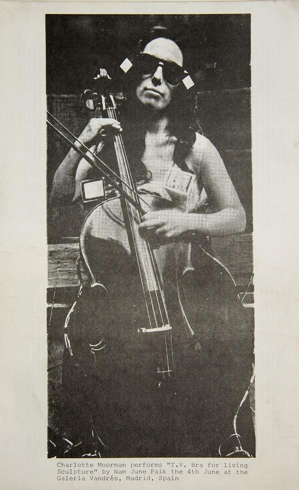 Charlotte Moorman en Madrid. Música de acción [1975]