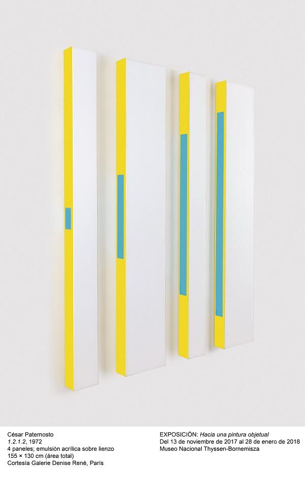Hacia una pintura objetual en el Museo Thyssen