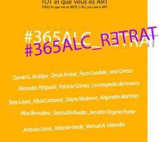 Exposición '365ALC_Retrat'