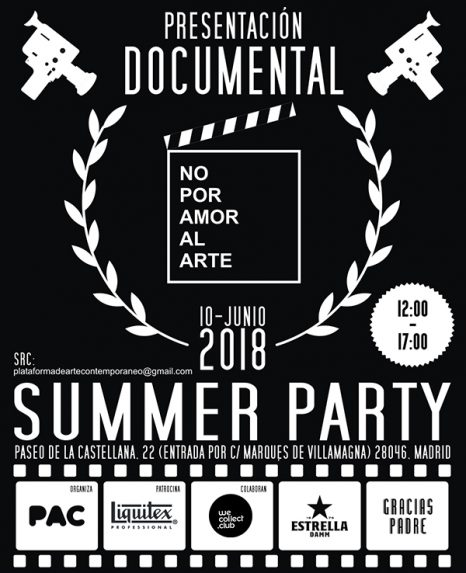 NOPORAMORALARTE SUMMER PARTY