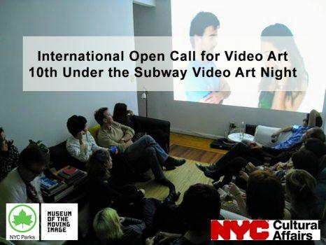Convocatoria internacional de videoarte 10 aniversario Under the Subway Video Art Night