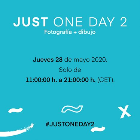JUST ONE DAY 2 - Fotografía + Dibujo