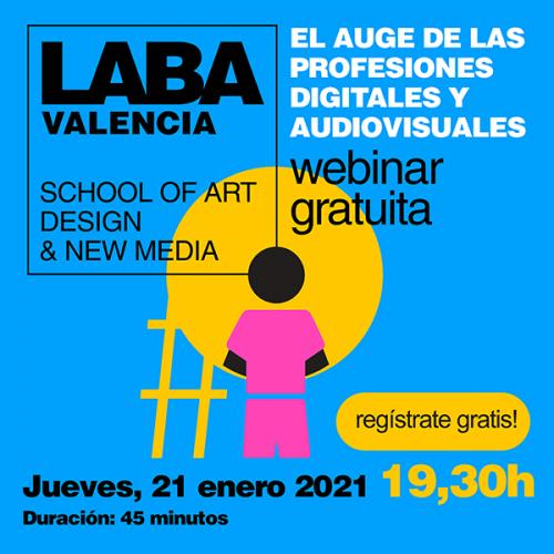 LABA Valencia El auge de las profesiones digitales y audiovisuales